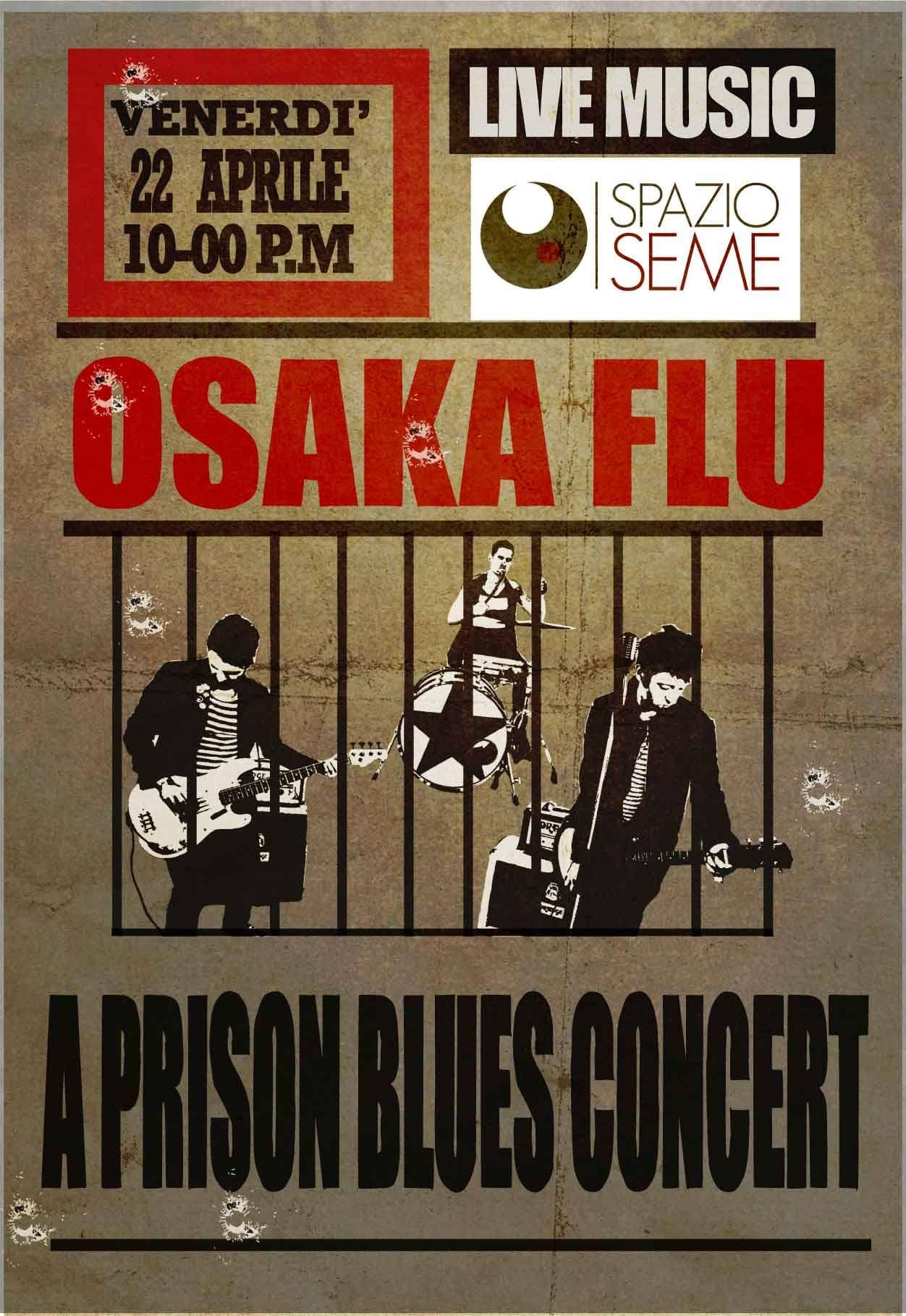 a prison blues concert locandina