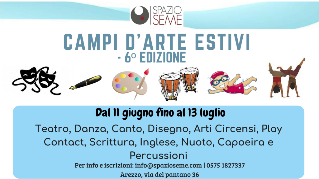 Campi d'arte estivi (banner facebook)